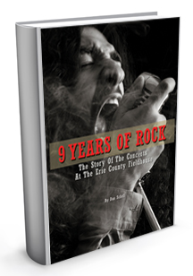 Dan Schell's book 9 Years Of Rock: The Story Of The Concerts At The Erie County Fieldhouse